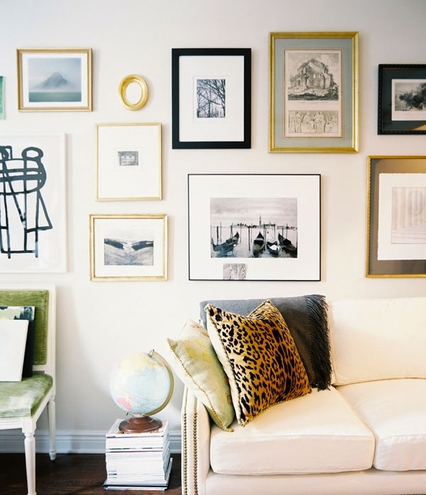 The Apartment Gallery: Six Tips For Hanging The Perfect Gallery Wall
