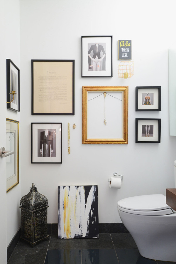 Idea To Steal: Eclectic Bathroom Decor