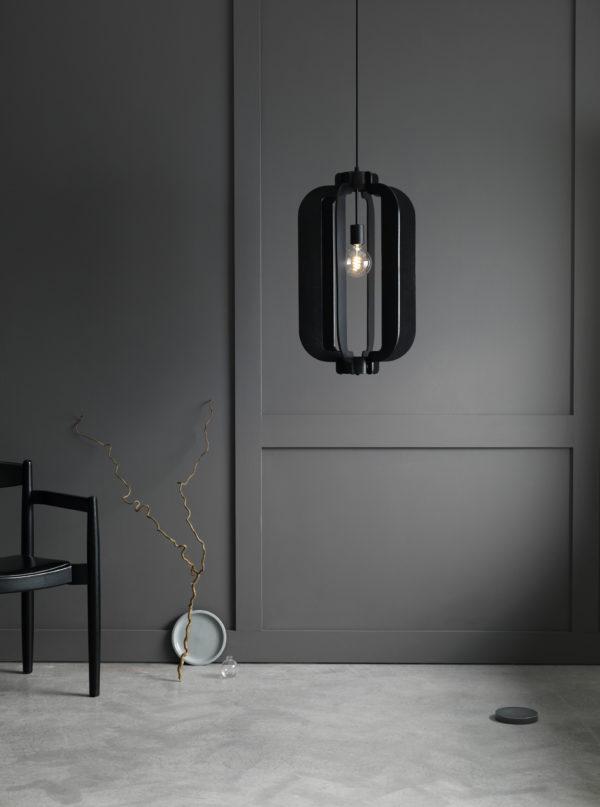 killer Scandinavian lighting on apartment 34