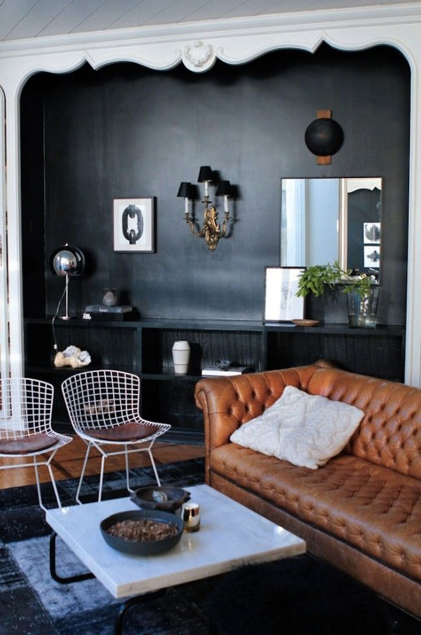 color coded: camel + black on apartment 34