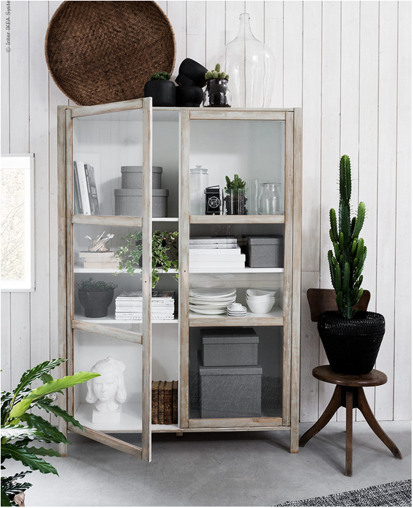 curiosity cabinets on apartment 34