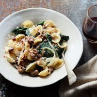 RECIPE: Orecchiette With Kale, Fennel, & Sausage