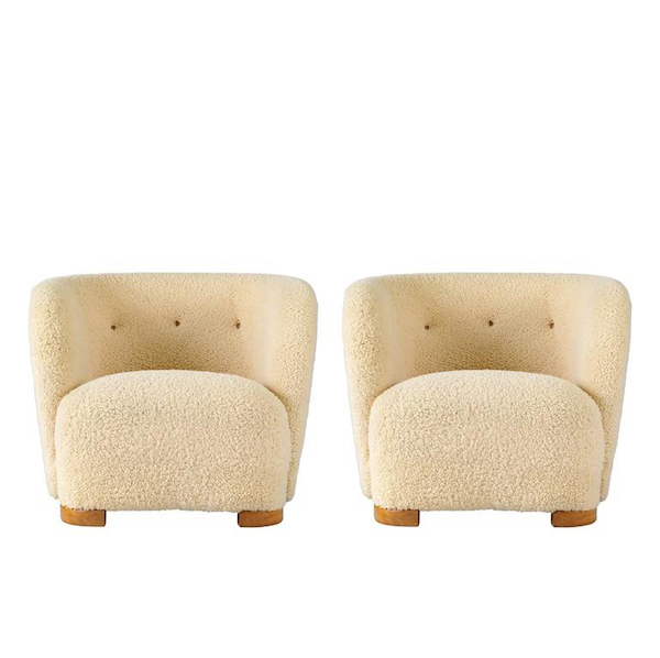 idea to steal: fuzzy chairs on apartment 34