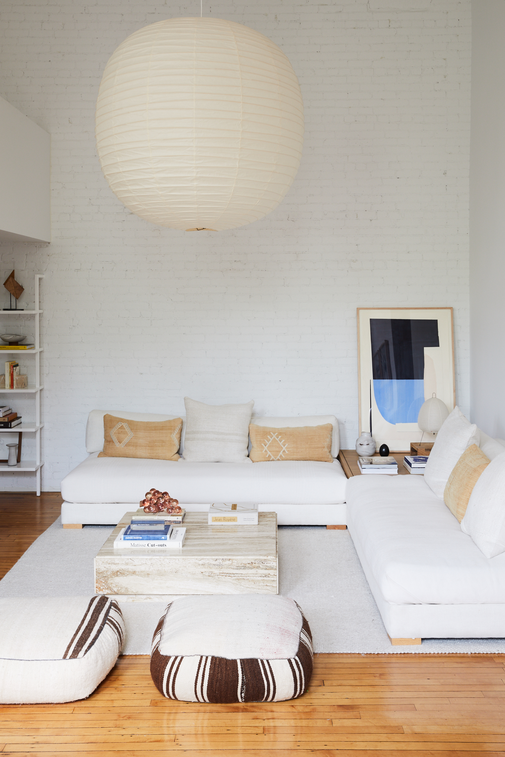 home tour: boho brooklyn loft on apartment 34