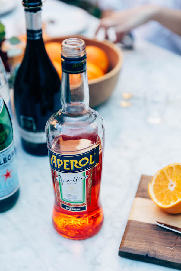 aperol spritz recipe on apartment 34