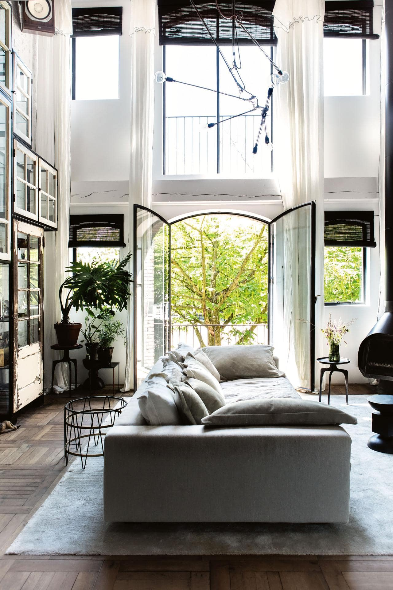 home tour: modern vintage in amsterdam