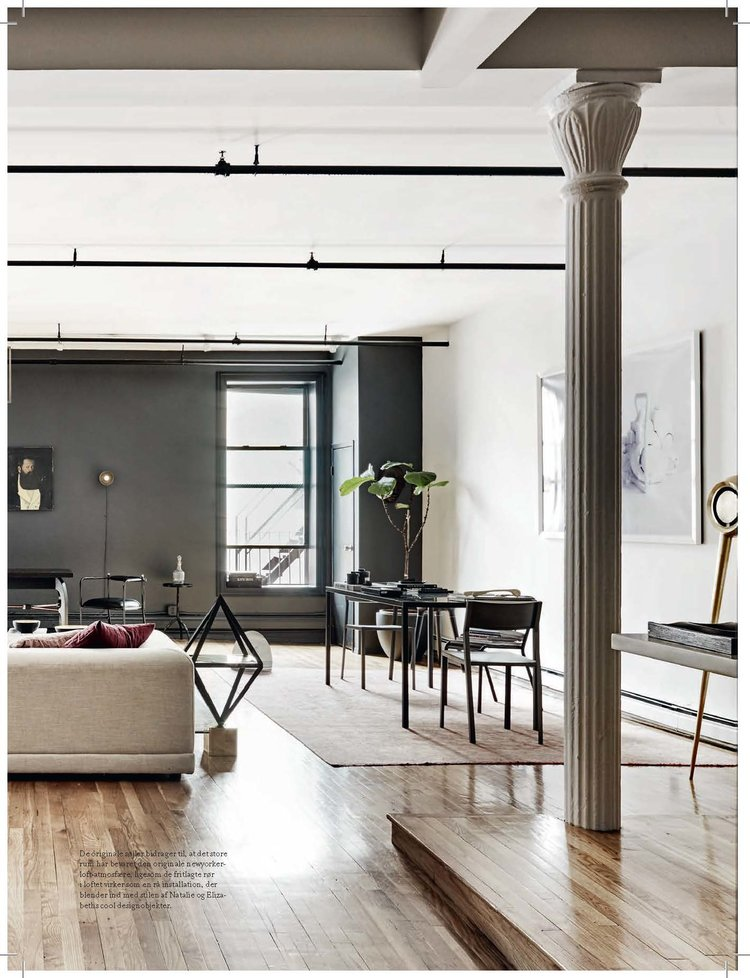 Home Tour: An Exercise In Noir Chic In New York City On Apartment 34