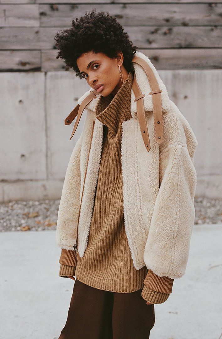 The Coat You Still Need this Winter on apartment 34